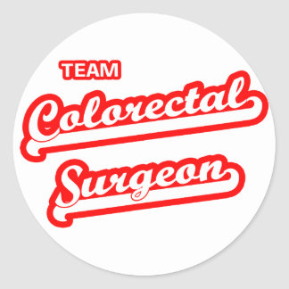 Team Colorectal Surgeon Stickers