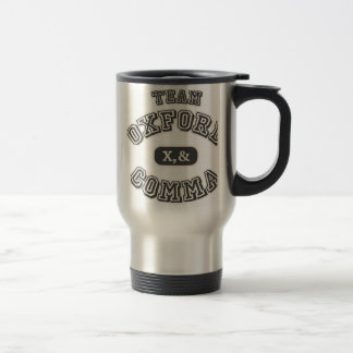 Team Comma II Travel Mug