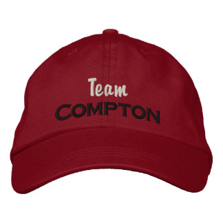 Team Compton Hat Embroidered Hats