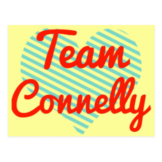 Team Connelly Postcard