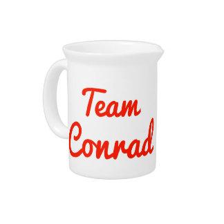 Team Conrad Drink Pitcher