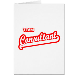 Team Consultant Card