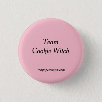 Team Cookie Witch Button! Button