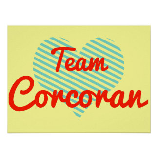 Team Corcoran Posters
