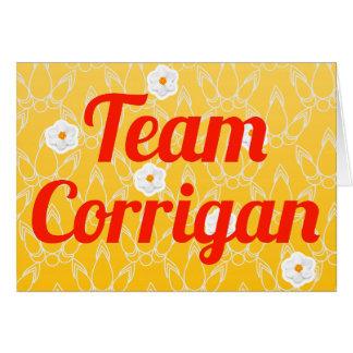 Team Corrigan Greeting Cards