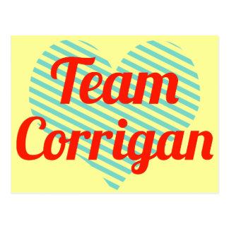 Team Corrigan Postcards