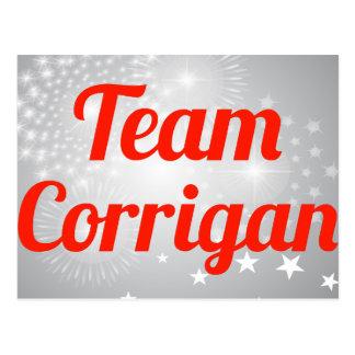 Team Corrigan Postcard
