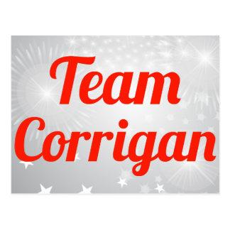 Team Corrigan Post Card