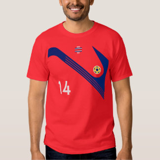 Team Costa Rica soccer T Shirt