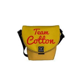 Team Cotton Courier Bag