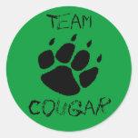 Team Cougar Sticker