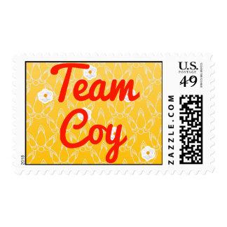 Team Coy Postage Stamp