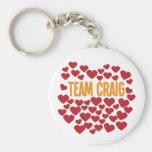 Team Craig Keychain