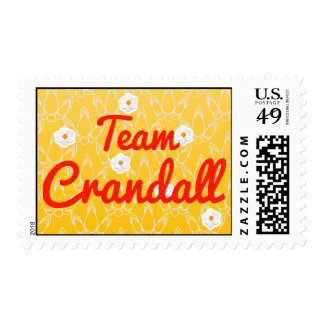 Team Crandall Stamps