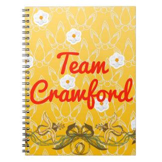 Team Crawford Spiral Notebook