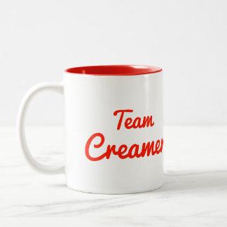 Team Creamer Coffee Mug