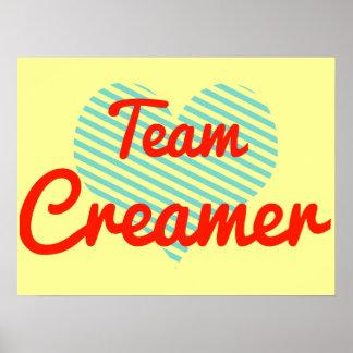 Team Creamer Posters