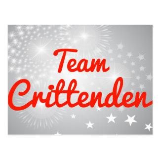 Team Crittenden Postcard