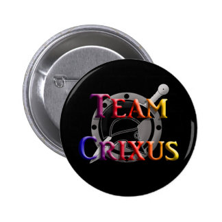 Team Crixus Pinback Button