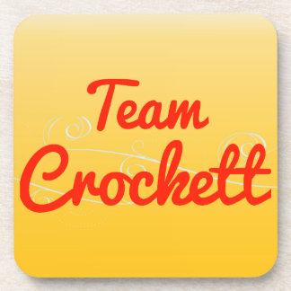 Team Crockett Coaster