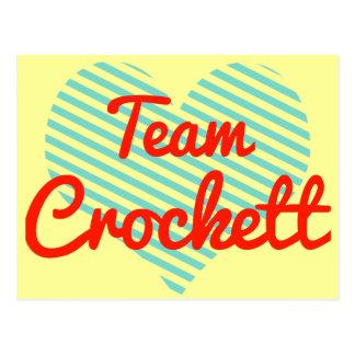 Team Crockett Postcard