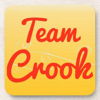 Team Crook Beverage Coasters