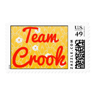 Team Crook Postage Stamps