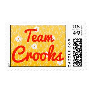 Team Crooks Stamp