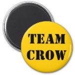 TEAM CROW FRIDGE MAGNETS