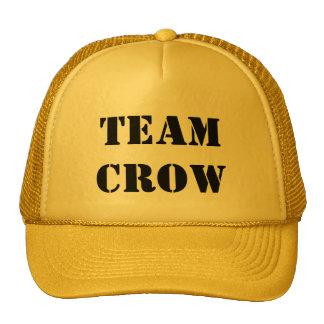TEAM CROW TRUCKER HAT