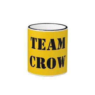 TEAM CROW COFFEE MUGS