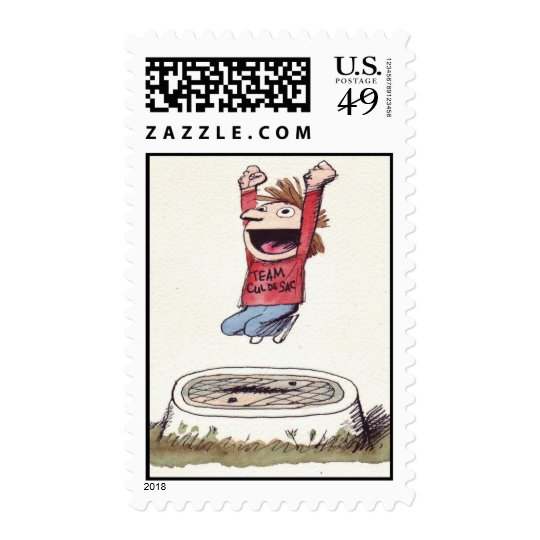 Team Cul de Sac stamp #1
