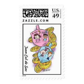 Team Cul de Sac stamp #4