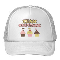 Team Cupcake hat or cap
