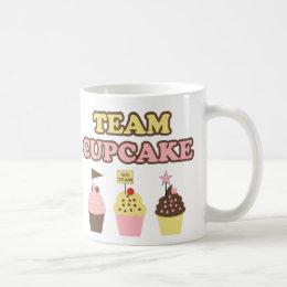 Team Cupcake Mug for cupcake fans