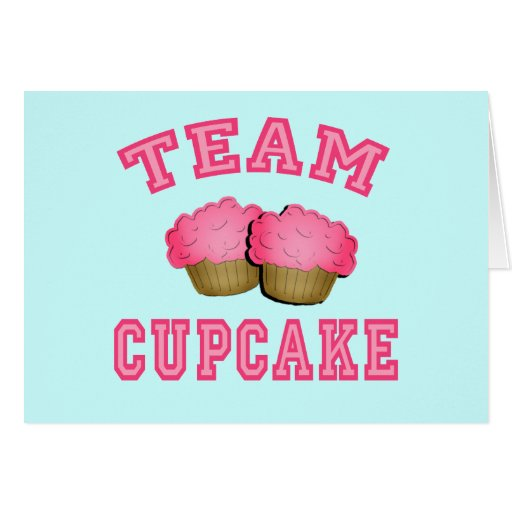 Team Cupcake Tshirts, Hoodies, Mugs, Gifts Greeting Card