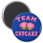 Team Cupcake Tshirts, Hoodies, Mugs, Gifts 2 Inch Round Magnet