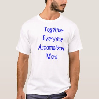 TEAM CURE ALS Foundation T-Shirt