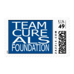 TEAM CURE ALS POSTAGE .44