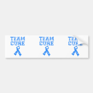 Team Cure (Blue) Bumper Sticker
