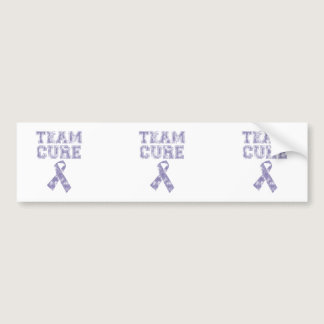 Team Cure (Periwinkle) Bumper Sticker