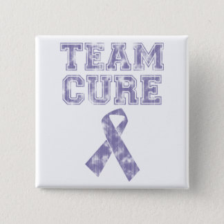Team Cure (Periwinkle) Pinback Button