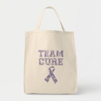 Team Cure (Periwinkle) Tote Bag
