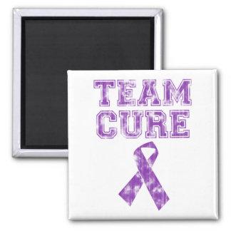 Team Cure (Purple) Refrigerator Magnet