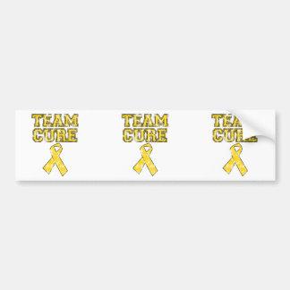 Team Cure (Yellow) Bumper Sticker