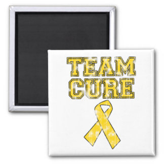 Team Cure (Yellow) Refrigerator Magnets