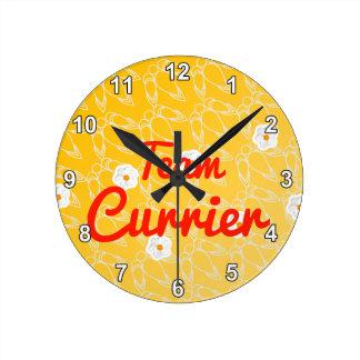 Team Currier Clock