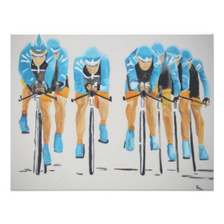 team cycle race personalized invites