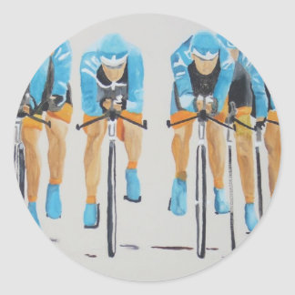 team cycle race sticker