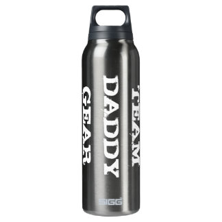 Team Daddy Gear Bottle 16 Oz Insulated SIGG Thermos Water Bottle